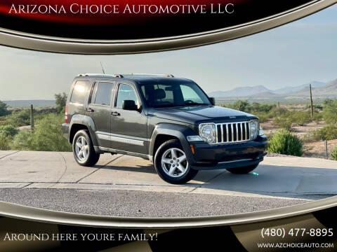 2011 Jeep Liberty for sale at Arizona Choice Automotive LLC in Mesa AZ