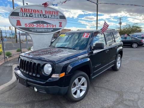 2012 Jeep Patriot for sale at Arizona Drive LLC in Tucson AZ