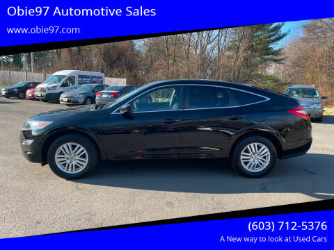 2012 Honda Crosstour for sale at Obie97 Automotive Sales in Londonderry NH