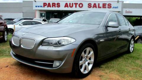 2011 BMW 5 Series for sale at Pars Auto Sales Inc in Stone Mountain GA