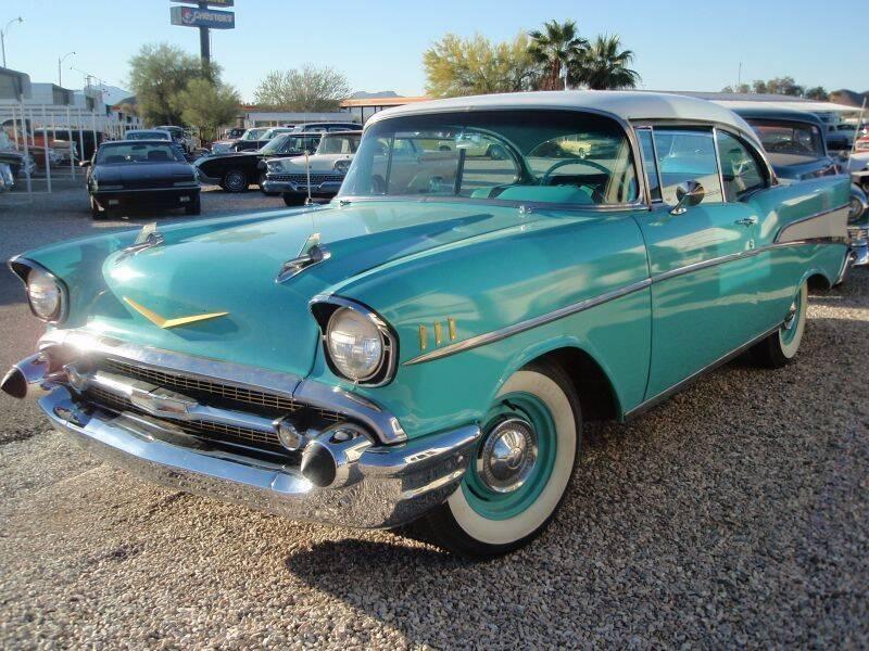 1957 Chevrolet Bel Air for sale at Collector Car Channel - Desert Gardens Mobile Homes in Quartzsite AZ