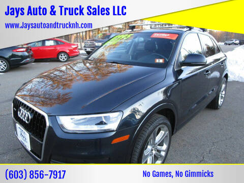 2015 Audi Q3 for sale at Jays Auto & Truck Sales LLC in Loudon NH