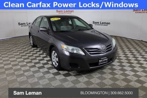 2010 Toyota Camry for sale at Sam Leman Mazda in Bloomington IL