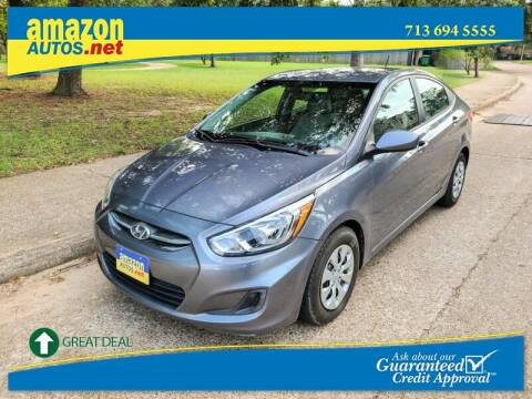 2017 Hyundai Accent for sale at Amazon Autos in Houston TX