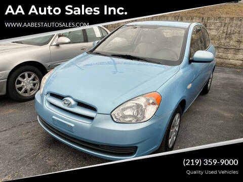 2010 Hyundai Accent for sale at AA Auto Sales Inc. in Gary IN