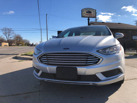 2018 Ford Fusion for sale at All Starz Auto Center Inc in Redford MI