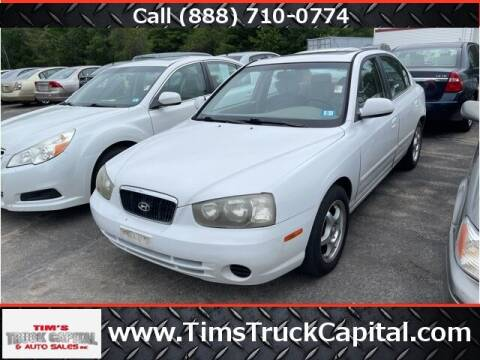 2002 Hyundai Elantra for sale at TTC AUTO OUTLET/TIM'S TRUCK CAPITAL & AUTO SALES INC ANNEX in Epsom NH