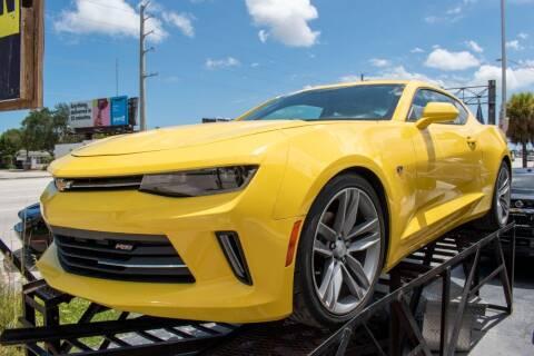 2018 Chevrolet Camaro for sale at Guru Auto Sales in Miramar FL