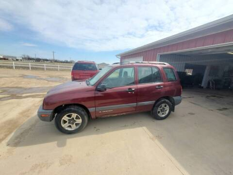2002 Chevrolet Tracker for sale at TnT Auto Plex in Platte SD