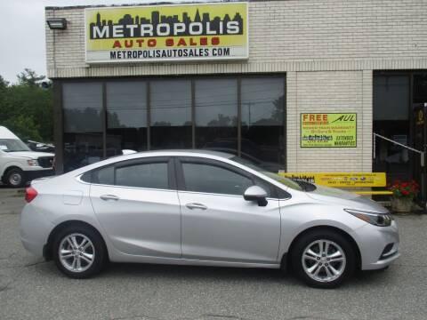2017 Chevrolet Cruze for sale at Metropolis Auto Sales in Pelham NH