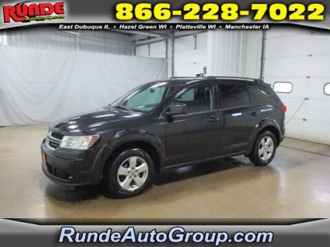 2011 Dodge Journey for sale at Runde PreDriven in Hazel Green WI