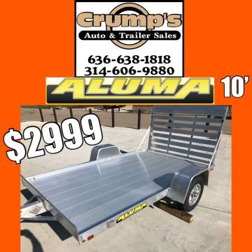 2022 Aluma 10' Utility trailer