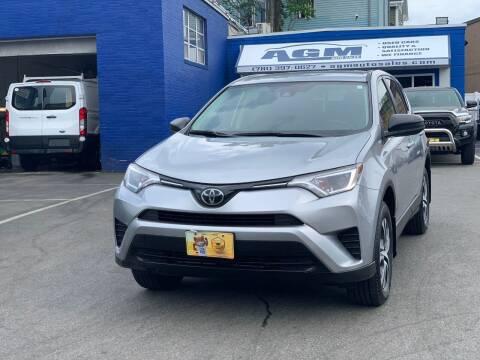 2018 Toyota RAV4 for sale at AGM AUTO SALES in Malden MA