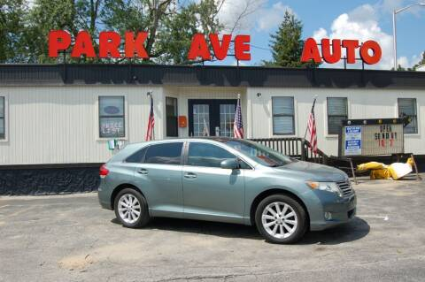 2011 Toyota Venza for sale at Park Ave Auto Inc. in Worcester MA