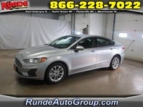 2020 Ford Fusion for sale at Runde Chevrolet in East Dubuque IL
