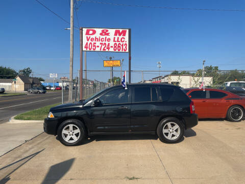 2008 Jeep Compass for sale at D & M Vehicle LLC in Oklahoma City OK