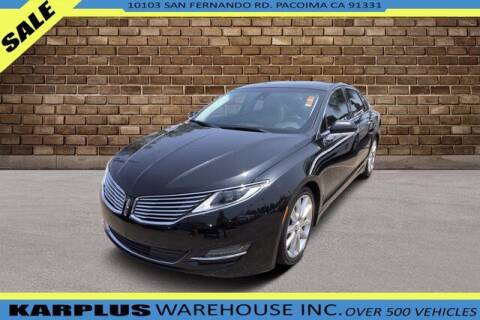 2015 Lincoln MKZ Hybrid for sale at Karplus Warehouse in Pacoima CA