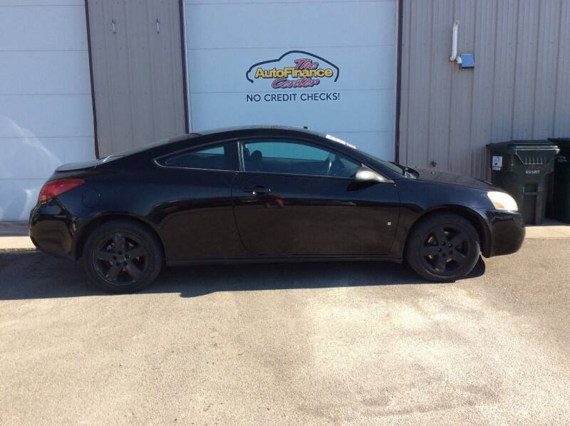 2007 Pontiac G6 for sale at The AutoFinance Center in Rochester MN