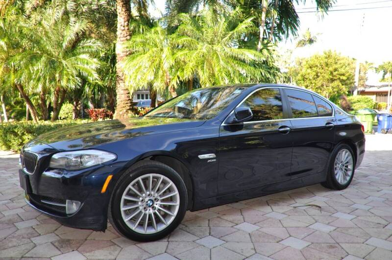 2011 BMW 5 Series for sale at INTERNATIONAL AUTO BROKERS INC in Hollywood FL