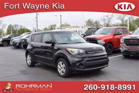 2018 Kia Soul for sale at BOB ROHRMAN FORT WAYNE TOYOTA in Fort Wayne IN