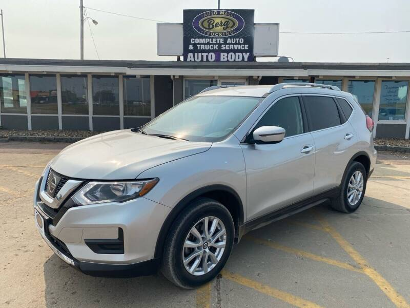 2017 Nissan Rogue for sale at BERG AUTO MALL & TRUCKING INC in Beresford SD
