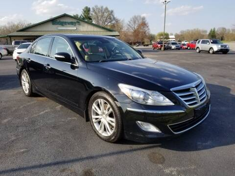 2013 Hyundai Genesis for sale at Ridgeway's Auto Sales in West Frankfort IL