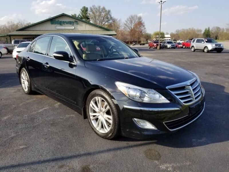 2013 Hyundai Genesis for sale at Ridgeway's Auto Sales in West Frankfort IL