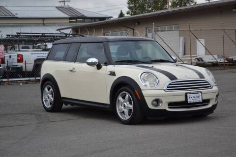 2008 MINI Cooper Clubman for sale at Skyline Motors Auto Sales in Tacoma WA
