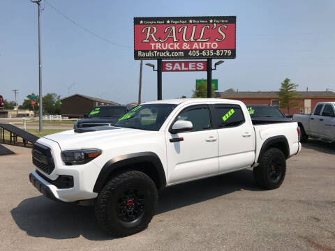 2017 Toyota Tacoma for sale at RAUL'S TRUCK & AUTO SALES, INC in Oklahoma City OK