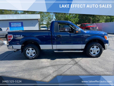 2011 Ford F-150 for sale at Lake Effect Auto Sales in Chardon OH