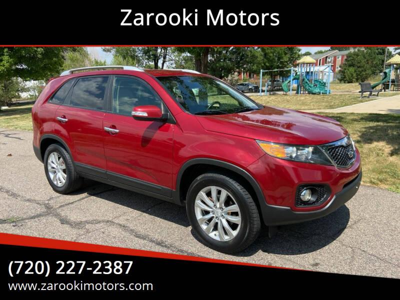2011 Kia Sorento for sale at Zarooki Motors in Englewood CO