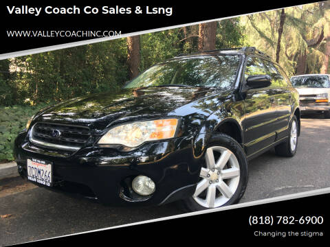 2006 Subaru Outback for sale at Valley Coach Co Sales & Lsng in Van Nuys CA
