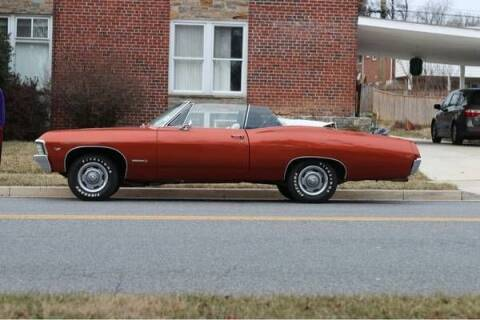 1967 Chevrolet Impala for sale at Classic Car Deals in Cadillac MI