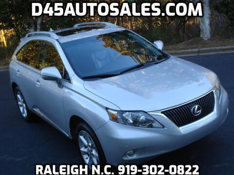 2011 Lexus RX 350 for sale at D45 Auto Brokers in Raleigh NC