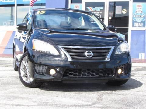 2015 Nissan Sentra for sale at VIP AUTO ENTERPRISE INC. in Orlando FL