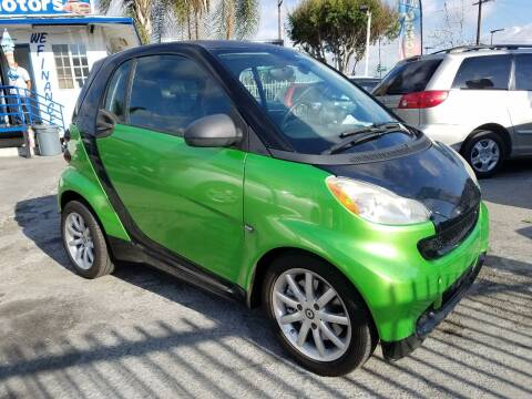 2008 Smart fortwo for sale at Olympic Motors in Los Angeles CA
