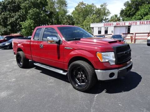 2013 Ford F-150 for sale at DONNY MILLS AUTO SALES in Largo FL