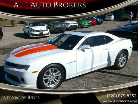 2014 Chevrolet Camaro for sale at A - 1 Auto Brokers in Ocean Springs MS