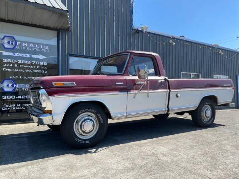 1971 Ford F-250 for sale at Chehalis Auto Center in Chehalis WA