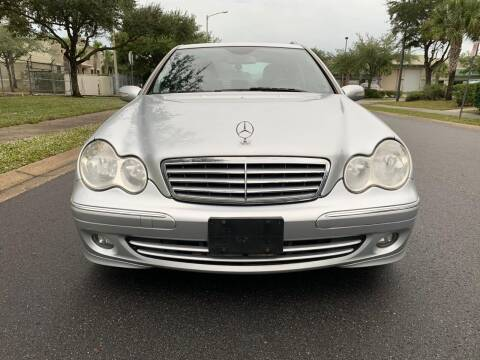 2007 Mercedes-Benz C-Class for sale at Presidents Cars LLC in Orlando FL