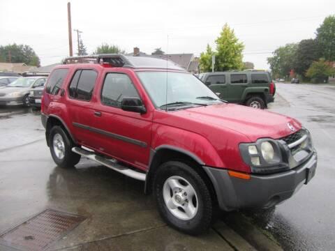 2003 Nissan Xterra for sale at Car Link Auto Sales LLC in Marysville WA