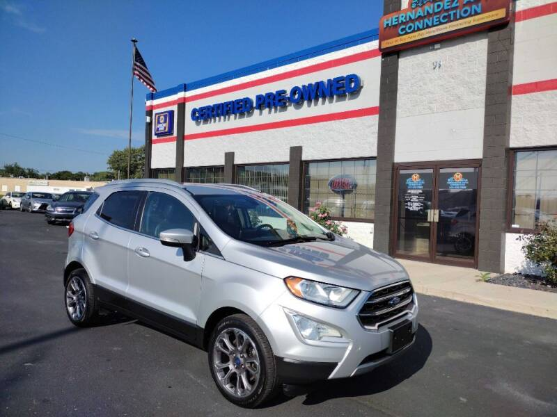 2018 Ford EcoSport for sale at Ultimate Auto Deals DBA Hernandez Auto Connection in Fort Wayne IN