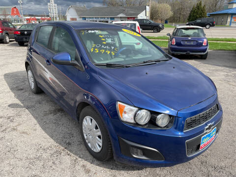 2013 Chevrolet Sonic for sale at Peter Kay Auto Sales in Alden NY