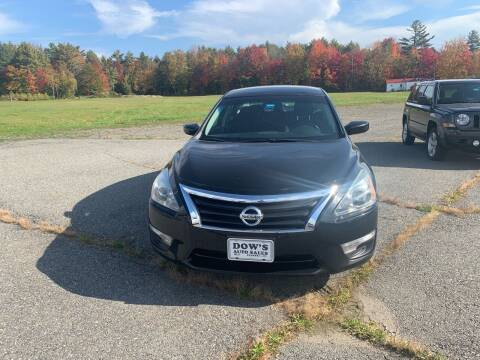2014 Nissan Altima for sale at DOW'S AUTO SALES in Palmyra ME