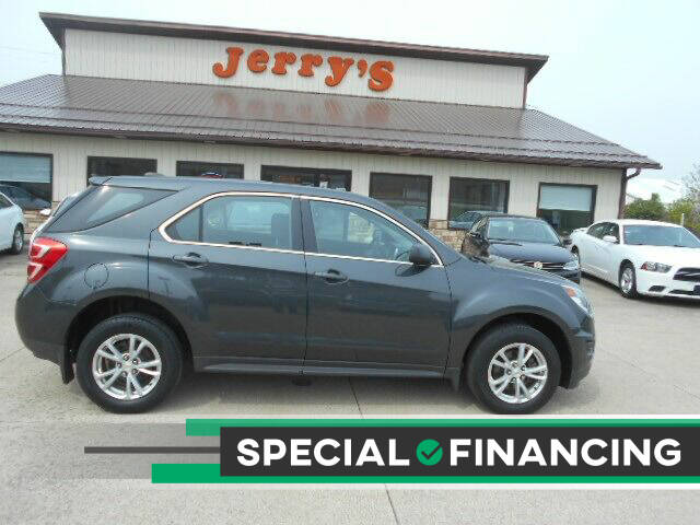 2017 Chevrolet Equinox for sale at Jerry's Auto Mart in Uhrichsville OH