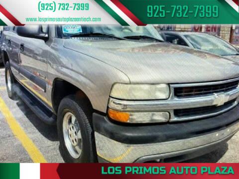 2003 Chevrolet Tahoe for sale at Los Primos Auto Plaza in Antioch CA