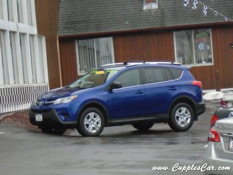 2015 Toyota RAV4 for sale at Cupples Car Company in Belmont NH
