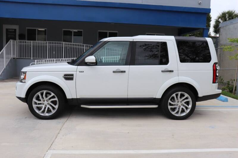 2016 Land Rover LR4 for sale at PERFORMANCE AUTO WHOLESALERS in Miami FL