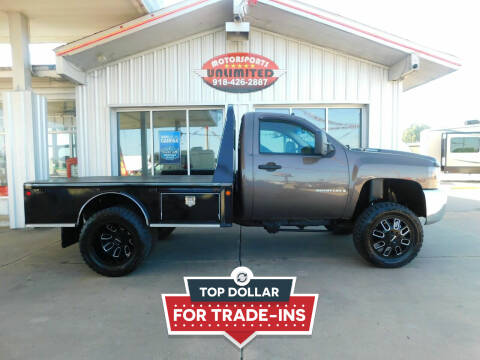 2007 Chevrolet Silverado 3500HD CC for sale at Motorsports Unlimited in McAlester OK