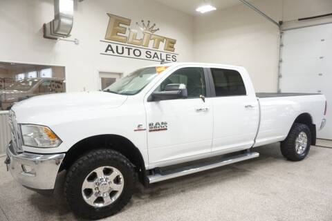 2018 RAM Ram Pickup 3500 for sale at Elite Auto Sales in Ammon ID